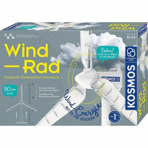Kosmos Lernspielzeug »Wind-Rad«