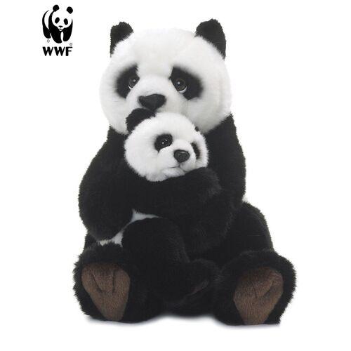 WWF Plüschfigur »Plüschtier Pandamutter mit Baby (28cm)«