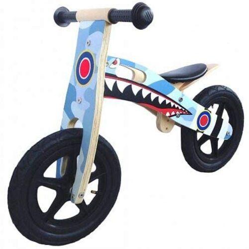 LeNoSa Laufrad »Shark • Kinder Balance bike • Laufrad aus Holz«