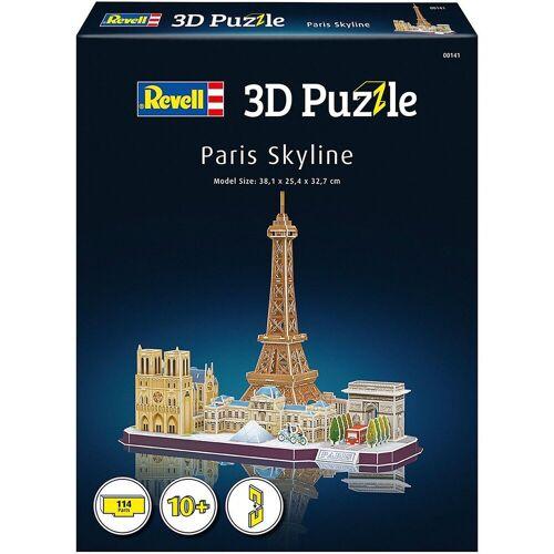 Revell® 3D-Puzzle »3D-Puzzle Paris Skyline, 114 Teile«, Puzzleteile