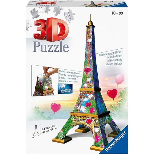 Ravensburger 3D-Puzzle »3D-Puzzle Eiffelturm Love Edition, 216 Teile«, Puzzleteile