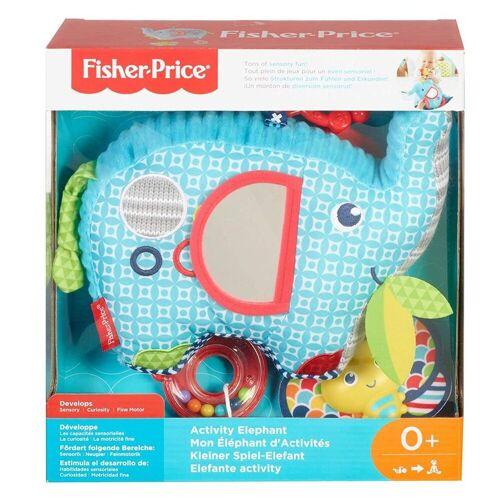 Mattel Spiel, »Mattel FDC58 - Fisher-Price - Lernspielzeug, Kleiner Spiel-Elefant«