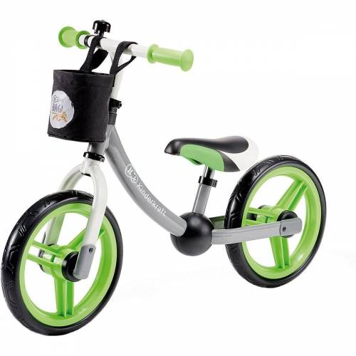 Kinderkraft Laufrad »Laufrad 2WAY NEXT, turquoise«, grau/grün