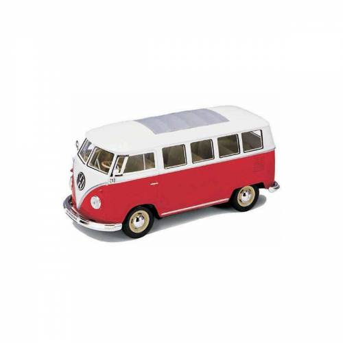 Welly Modellauto »VW Bus '62, rot 1:24«