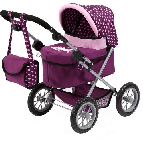 Bayer Puppenwagen »Puppenwagen Trendy, blau«, lila