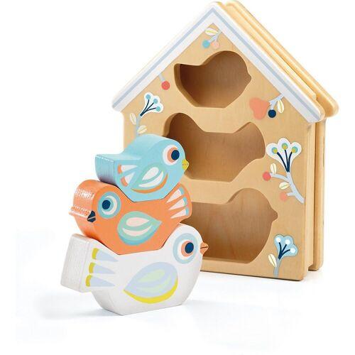 DJECO Steckspielzeug »Steckspielzeug BabyBirdi«