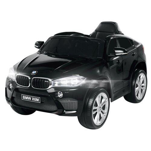 Actionbikes Motors Spielzeug-Auto »Kinder Elektroauto BMW X6M F16«, inkl. Fernbedienung, Schwarz