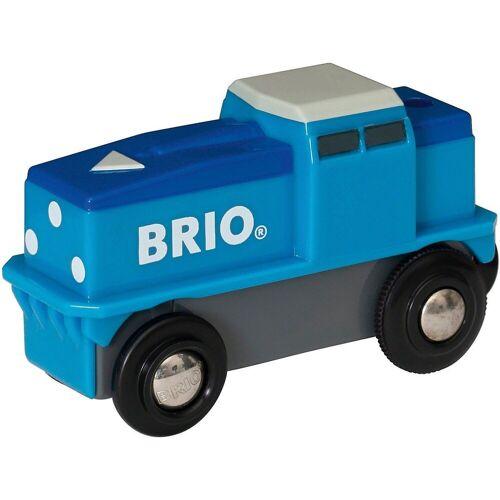 Brio Spielzeug-Eisenbahn »Blaue Batterie Frachtlok«