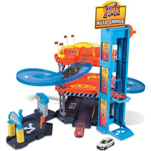 Bburago Spiel-Parkgarage »StreetFire AutoGarage«, inklusive 2 Fahrzeuge