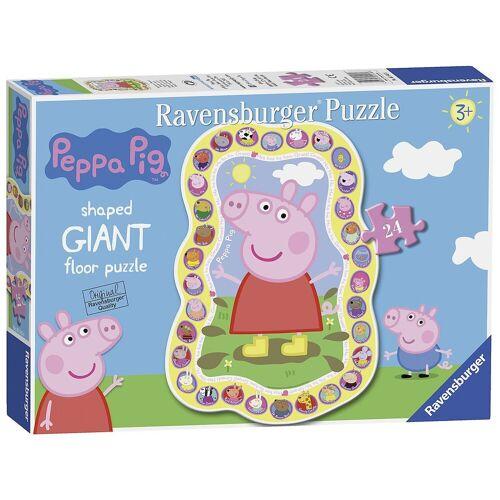 Ravensburger Puzzle »Peppa Pig Shaped Puzzle 24 Teile«, Puzzleteile