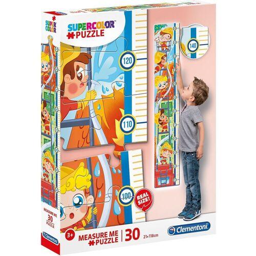 Clementoni® Puzzle »Messlatten Puzzle 30 Teile - Feuerwehr«, Puzzleteile