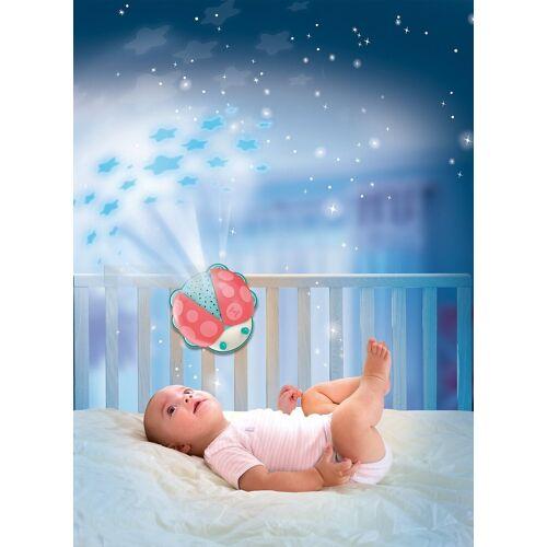 Clementoni® Nachtlicht »Nachtlicht Marienkäfer, Sternenhimmel Projektor«
