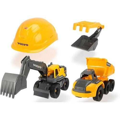Dickie Toys Spielzeug-Auto »Volvo Baustellen Spielset«