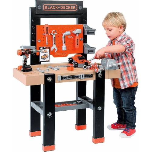 Smoby Werkbank »Black+Decker Werkbank Center«