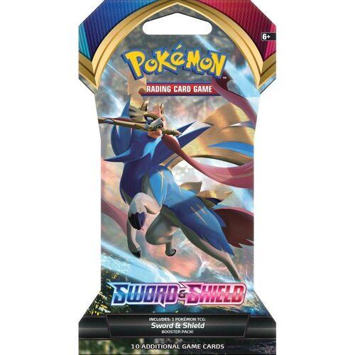 "POKÉMON Sammelkarte »Pokémon Sammelkartenspiel - ""Sword & Shield"" - 1 x Booster Blister - englisch«"