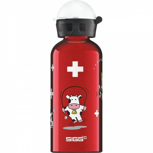 Sigg Trinkflasche »Alu-Trinkflasche Cars Speed, 400 ml«, rot