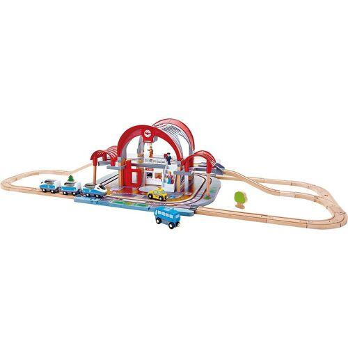 Hape Spielzeugeisenbahn-Set »Großstadtbahnhof«