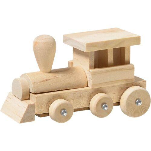 prohobb Holzbaukasten »Modellbausatz Holz Eisenbahn«