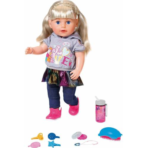 Zapf Creation® Stehpuppe »BABY born® Soft Touch Sister blond 43 cm«