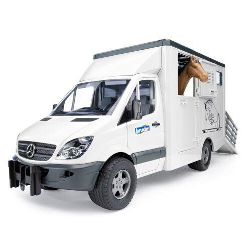 Bruder® Spielzeug-Landmaschine »Mercedes Benz Sprinter Tiertransporter«