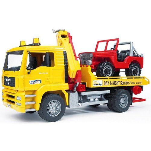 Bruder® Spielzeug-Auto »BRUDER 02750 MAN TGA Abschleppwagen«