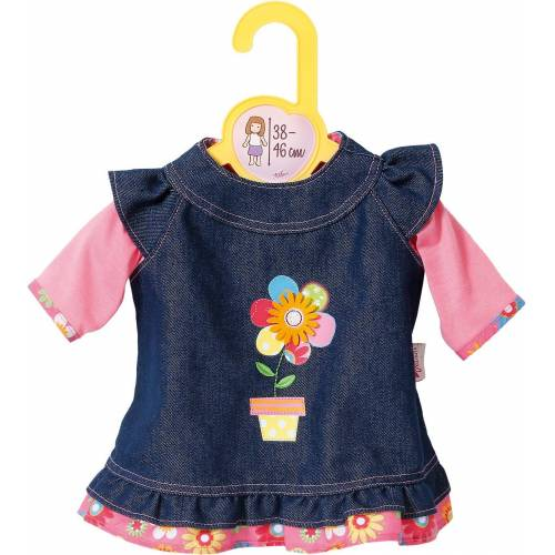 Zapf Creation® Puppenkleidung »Dolly Moda Puppenkleidung Jeanskleid 38-46 cm«