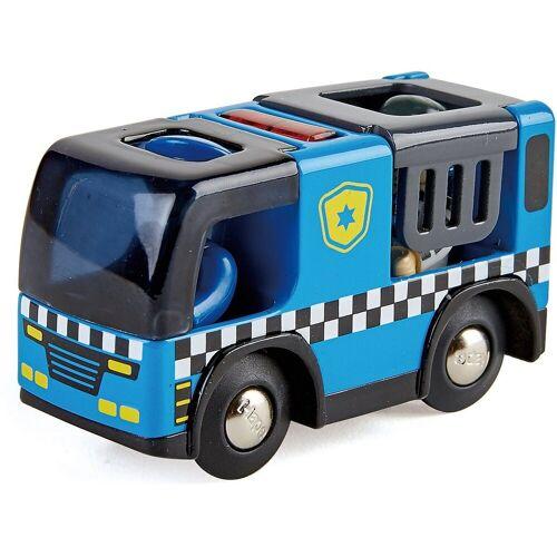 Hape Spielzeug-Eisenbahn »Polizeiauto mit Sirene«