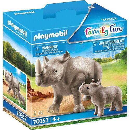 Playmobil Spielfigur »70357 Nashorn mit Baby«