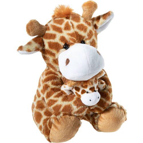 Heunec® Kuscheltier »Giraffe mit Baby, 25 cm«