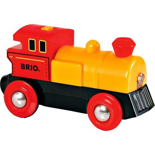 Brio Spielzeug-Eisenbahn »Gelbe Lok (Batteriebetrieb)«