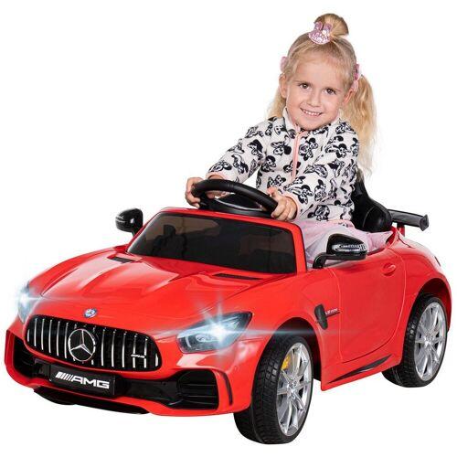 Actionbikes Motors Spielzeug-Auto »Kinder Elektroauto Mercedes Benz GT-R AMG«, inkl. Fernsteuerung, Rot