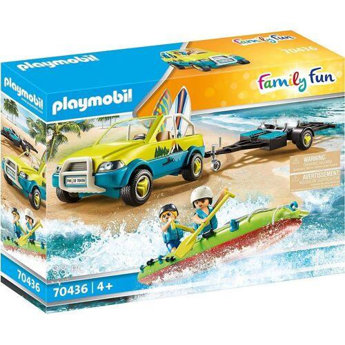 Playmobil Spielfigur »70436 Strandauto mit Kanuanhänger«