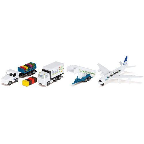 Siku Spielzeug-Flugzeug »Super, Flughafen«, (Set, 6-tlg)