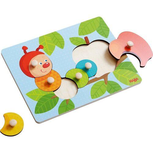 Haba Steckpuzzle »303189 Greifpuzzle Raupe Mina«, Puzzleteile