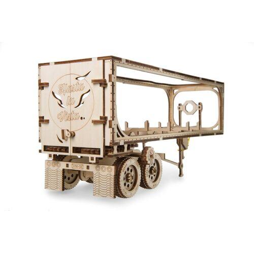 UGEARS 3D-Puzzle »Holz 3D-Puzzle Modellbausatz Anhänger für HEAVY BOY TRUCK«, 138 Puzzleteile