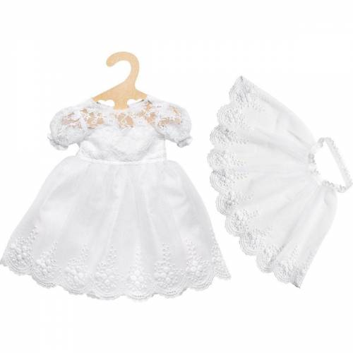 Heless Puppenkleidung »Puppen-Brautkleid Sissi mit Schleier, Gr. 35-45 cm«