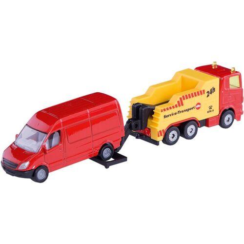 Siku Spielzeug-Auto »1667 Abschleppwagen mit PKW«