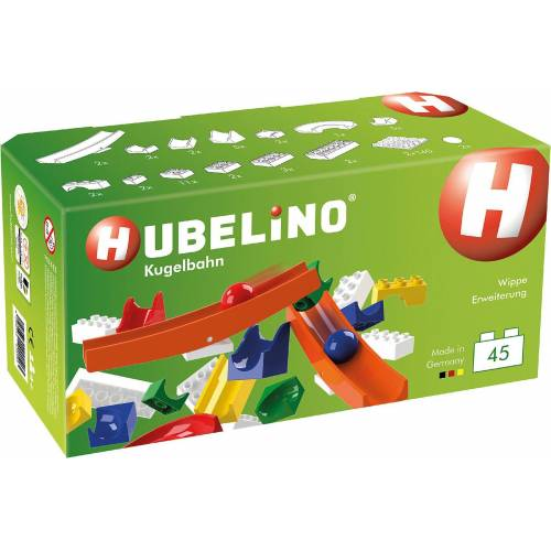 Hubelino Kugelbahn »Hubbelino - Kugelbahn Wippe Ergänzung, 45-tlg.«