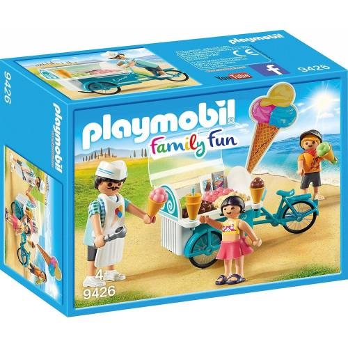 Playmobil Spielfigur »9426 Fahrrad mit Eiswagen«