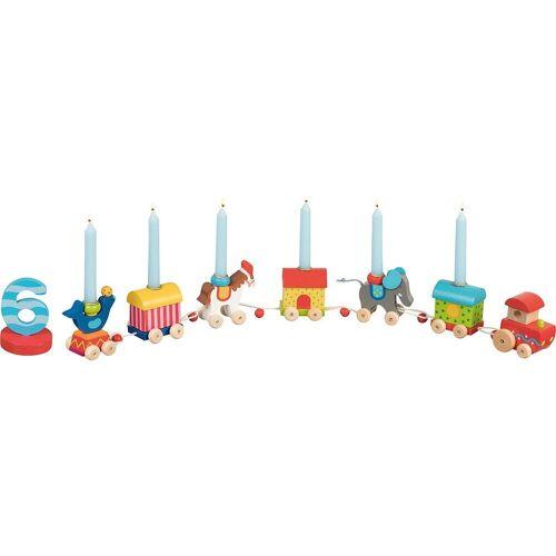goki Kerzenständer »Geburtstagszug Zirkuswelt«