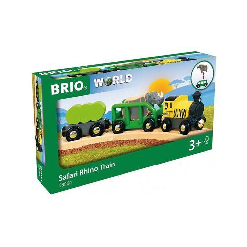 Brio Spielzeug-Eisenbahn »Safari-Zug mit Nashorn«