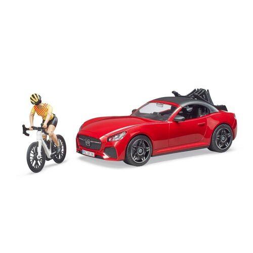 Bruder® Spielzeug-Auto »Roadster mit Figur«