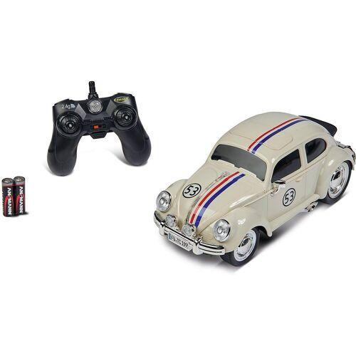 CARSON Spielzeug-Auto »1:14 VW Käfer Rally 53 2.4GHz 100% RTR«
