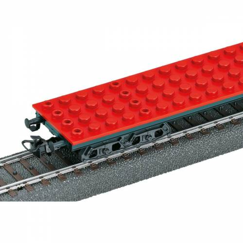 Märklin Modelleisenbahn-Set »START UP 44734 Klemmbausteinwagen«