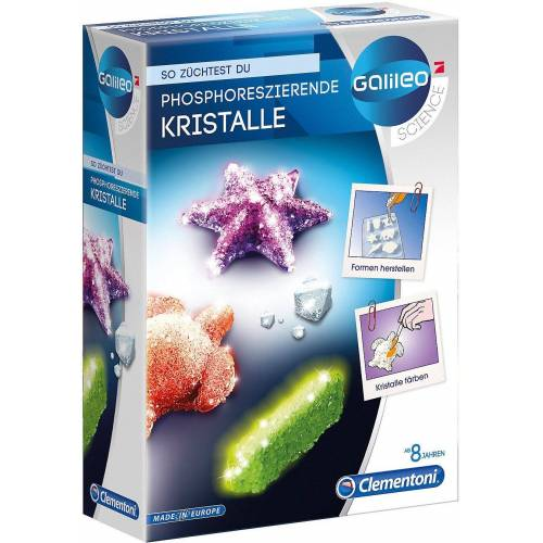 Clementoni® Lernspielzeug »Galileo - Fluoreszierende Kristalle«