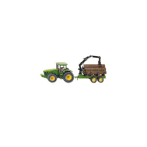 Siku Spielzeug-Auto »1954 Traktor mit Forstanhänger«