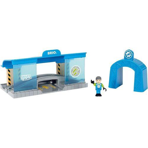 Brio Spielzeug-Eisenbahn »Smart Tech Eisenbahn-Werkstatt«