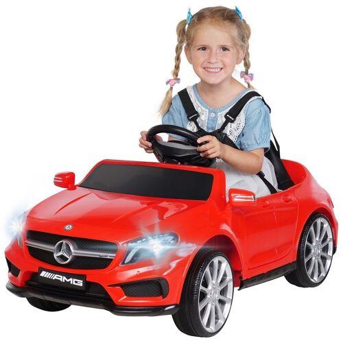 Actionbikes Motors Spielzeug-Auto »Kinder Elektroauto Mercedes GLA 45 AMG«, inkl. Fernbedienung, Rot