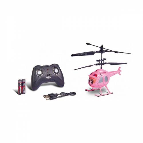 CARSON RC-Helikopter »Caty The Copter, IR 100% RTF«, pink