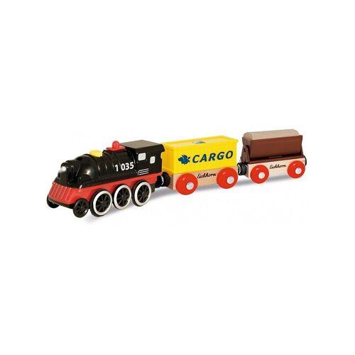 Eichhorn Spielzeug-Eisenbahn »E-Lok mit Wagon und Ladegut, 5 tlg.«